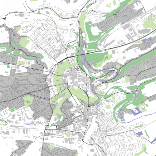 Rendering of Luxembourg