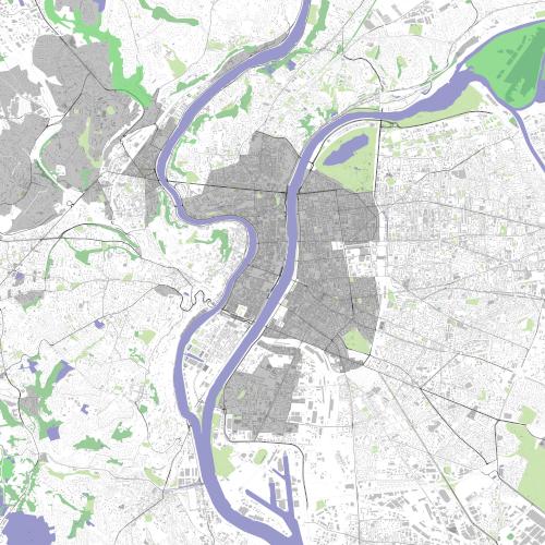 Rendering of Lyon