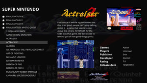 Screenshot of mehstation running
